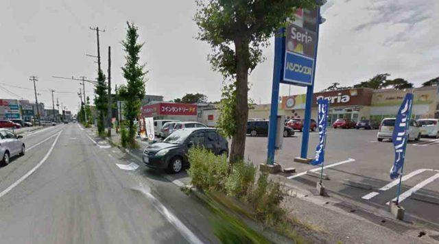 サクラヘアデザイン周辺道路・駐車場